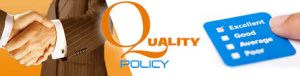 Techvynsys Solutions Quality policy